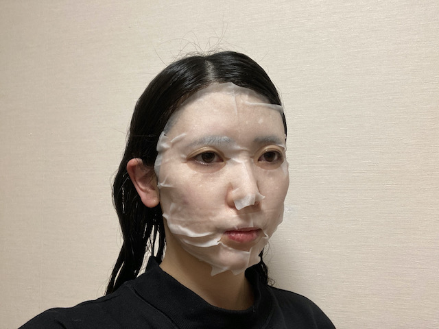 ビーグレンリセットマスクを使用