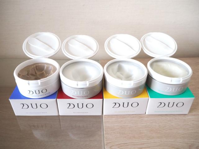 DUOクレンジングバームは4種類